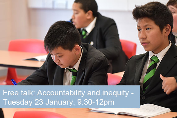Free talk: Accountability and inequity