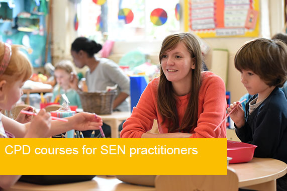CPD courses for SEN practitioners