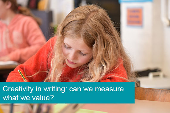 Creativity in writing: can we measure what we value?