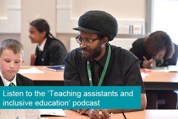 Podcast - Rob Webster: Teaching assistants and inclusive education