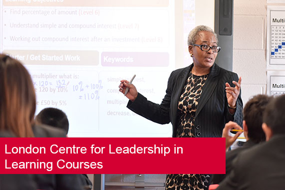London Centre for Leadership in Learning Courses